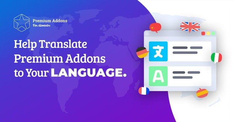 Translating Premium Addons for Elementor